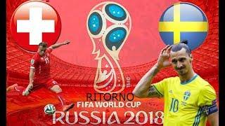 LIVE STREAMING,Girone A RITORNO  Russia 2018  Svizzera vs Svezia    Iscritto ricambi