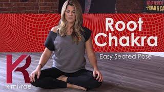 Easy Seated Pose (Sukhasana) root chakra yoga pose