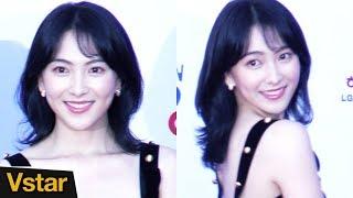 영화 '레온'의 주인공 강지영이 12일 부천국제판타스틱영화제 레드카펫...