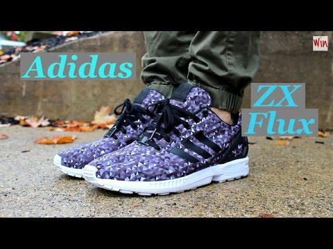 Adidas Zx Flux Galaxy Prism