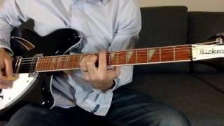 Low guitar cover R.E.M.