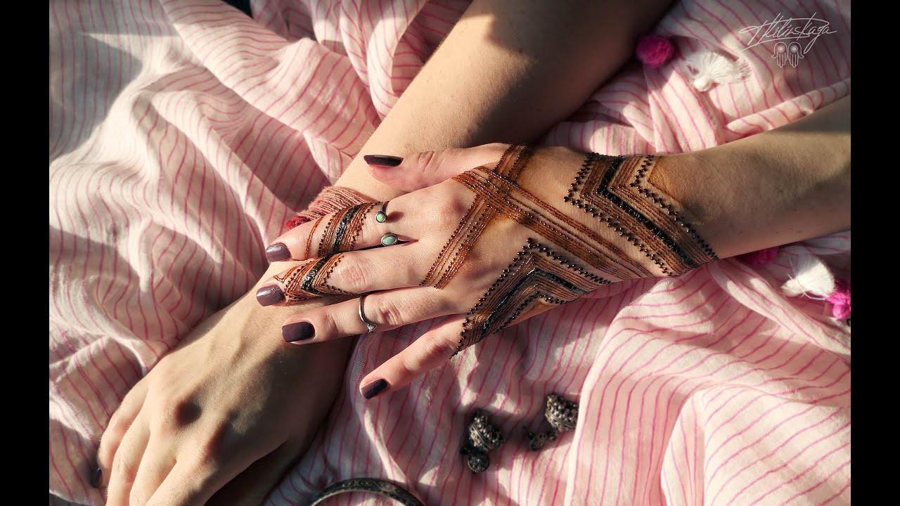 Stripes Henna Design