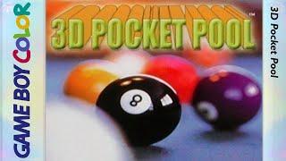 3D Pocket Pool - Game Boy Color