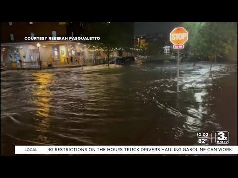 Saturday night's storm devastates downtown Omaha