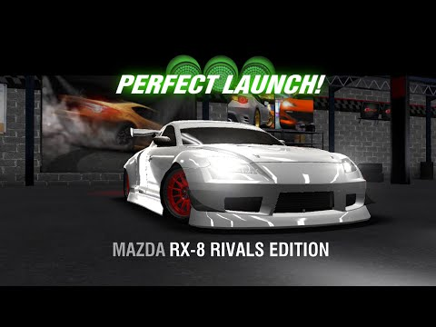 racing rivals mazda rx 8 rivals edition perfect launch. Black Bedroom Furniture Sets. Home Design Ideas