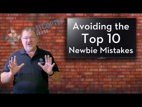 Top 10 Drone Newbie Mistakes and How to Avoid Them