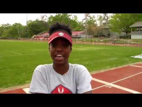 Hammond track & field star Taylor McGruder
