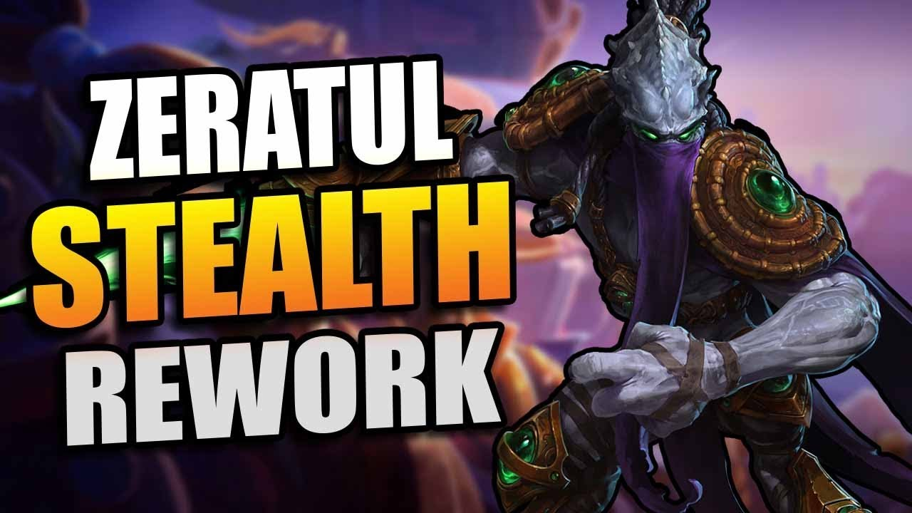 Heroes Of The Storm Stealth Rework