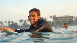 Balder Borgen talks youth surf camp and Sri Lanka