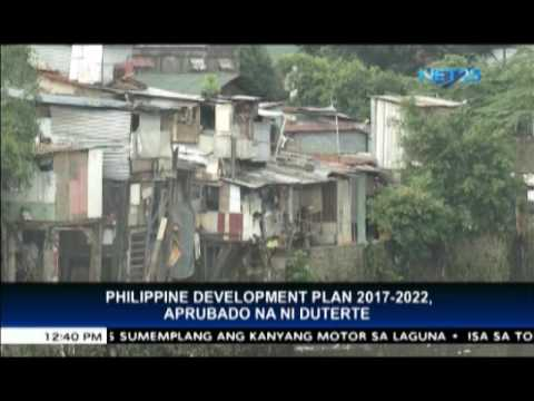 President Duterte approves Philippine Development Plan 2017-2022 to address poverty in rural areas
