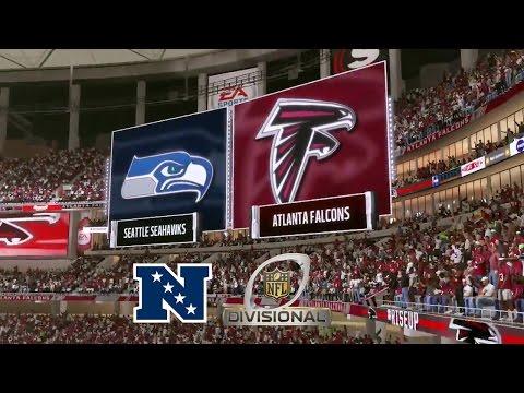 Madden 17: Seattle Seahawks Vs Atlanta Falcons (2017 NFC Divisional Match-Up)