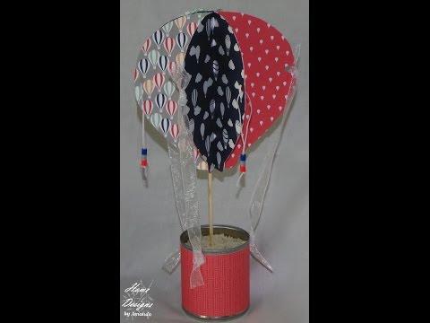 SU DSP Hot Air Balloon Centerpiece