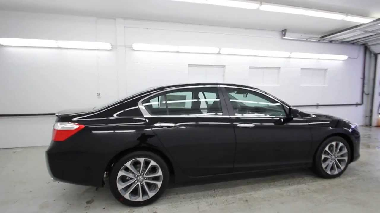 2014 Honda Accord Sport | Crystal Black | EA160334 ...