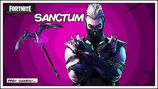 Streamer React to NEW SANCTUM Vampire Skin And Moonrise Pickaxe - Fortnite Battle Royale