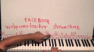 Piano Lesson Theme Music From Braveheart Tutorial - The 18th Hired Request