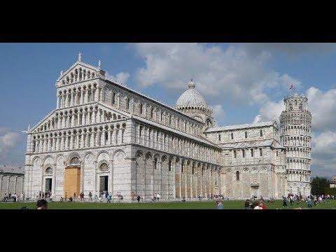 ***** PISA PIAZZA DEI MIRACOLI (1/5): Torre Pendente, Duomo, Battistero, Camposanto (UNESCO)