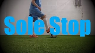 sole stop wall work drills soccer football training for u6 u7