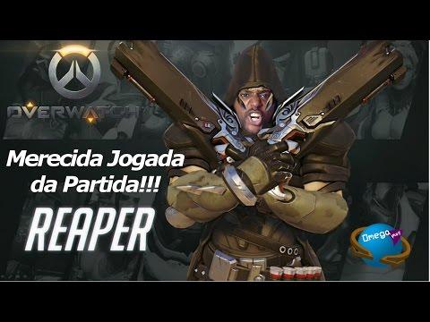 """Merecida Jogada da Partida """"Reaper"""" [Overwatch] Omega Play"""