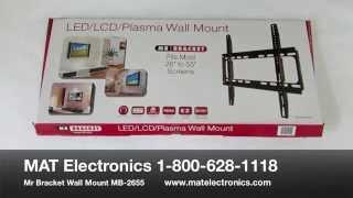 Mat Electronics Best Selling TV Wall Mount by Mr. Bracket MB-2655