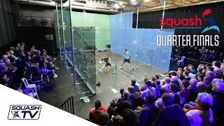 Squash: Dunlop National Squash Champs 2018 - Men's QF Roundup