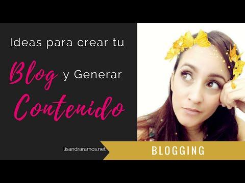 ideas para blog y generar contenido