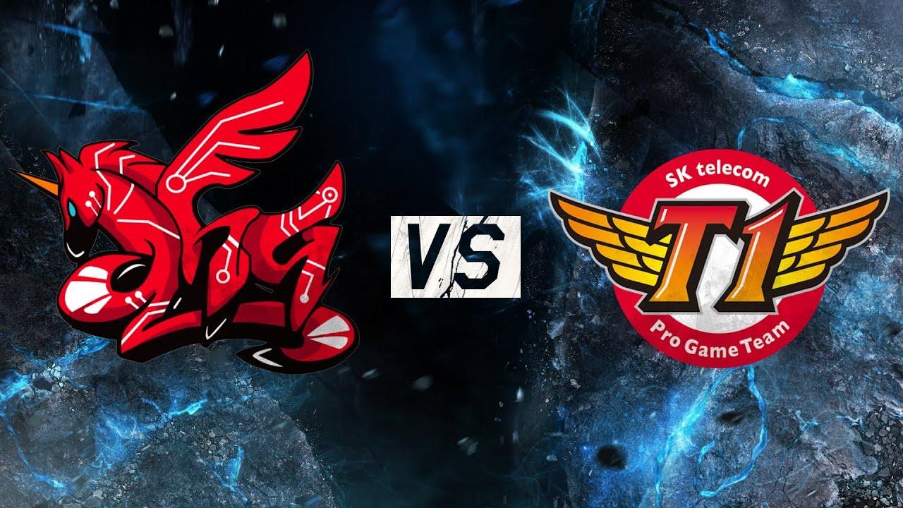 SK Telecom T1 vs AHQ Game 1 Quarterfinals | LoL S5 World Championship 2015 SKT  vs AHQ G1 Worlds