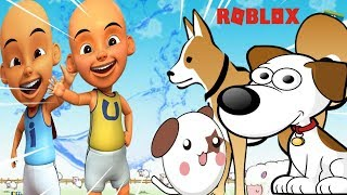A cute little dog-Roblox Upin Ipin