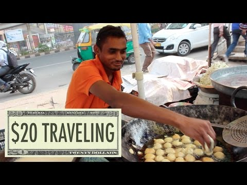 Delhi, India: $20 TRAVELING - Ep 18