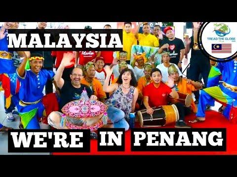 Arrival in Penang - Malaysia Borneo Trip 2017