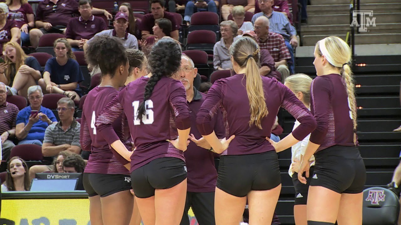 Texas A M Volleyball 2017 Senior Video Youtube