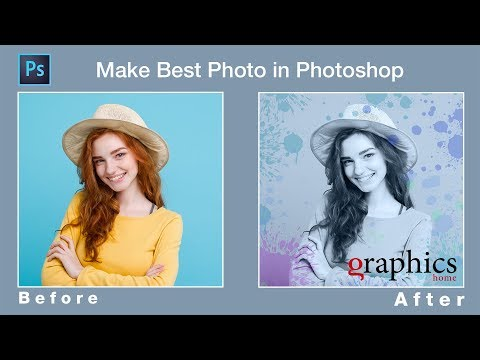 Photoshop Effect Tutorial | how to make best Photo in Photoshop thumbnail