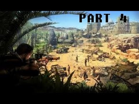 Sniper Elite III part 4 Hellfire Pass