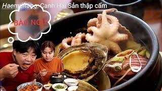 2 Đứa đi ăn Canh Hải Sản và Cơm trộn gần nhà. Ẩm thực, Cuộc sống Hàn Quốc 🇰🇷258