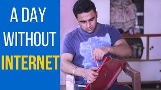 a day without internet