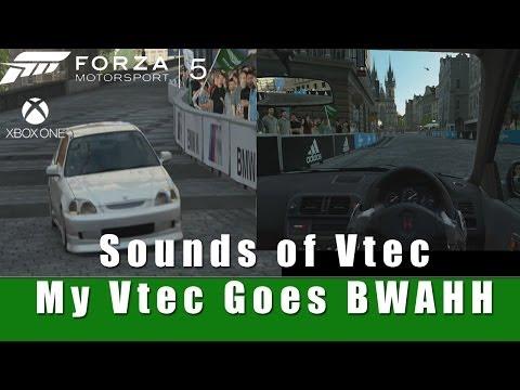 Sounds of Vtec - Forza Motorsport 5 | SLAPTrain