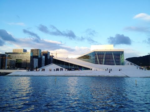 Visit Oslo The Capital Of Norway. On a clear winter day