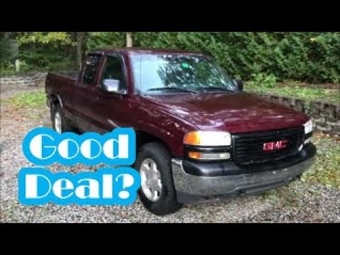 I Bought A Rusty 01 GMC Sierra For $1000