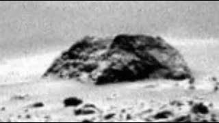 SPHINX HEAD Buried in the Sand on Mars, Curiosity Rover Anomalies