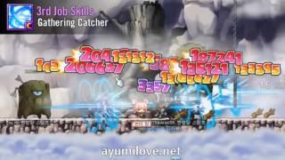 Ayumilove MapleStory Aran 1st, 2nd, 3rd, 4th Job Skill & Hyper Skills (2015)