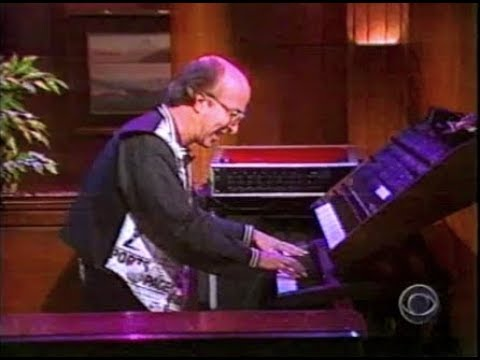 Paul Shaffer on CBS This Morning, August 25, 1993