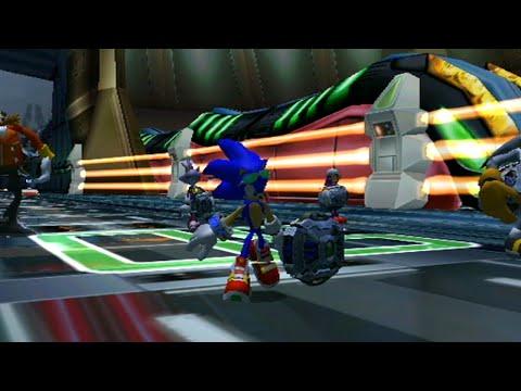 Sonic Riders Zero Gravity: World Grand Prix - Babylon Cup W/ Sonic