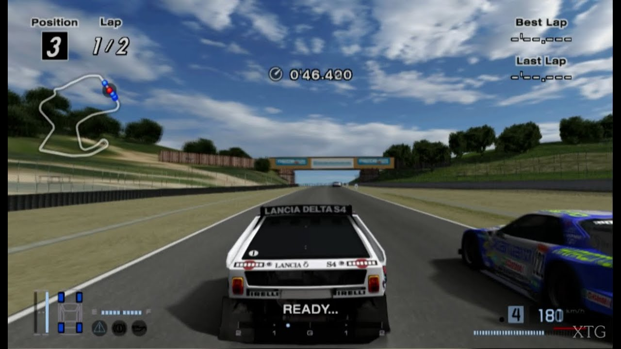 gran turismo 4 lancia delta s4 rally car hd ps2 gameplay. Black Bedroom Furniture Sets. Home Design Ideas