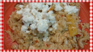 Cheesy Ancho Chicken And Rice Skillet Recipe ~ Noreen's Kitchen