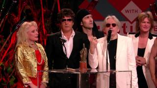 NME Awards 2014: Blondie Accept Godlike Genius Award