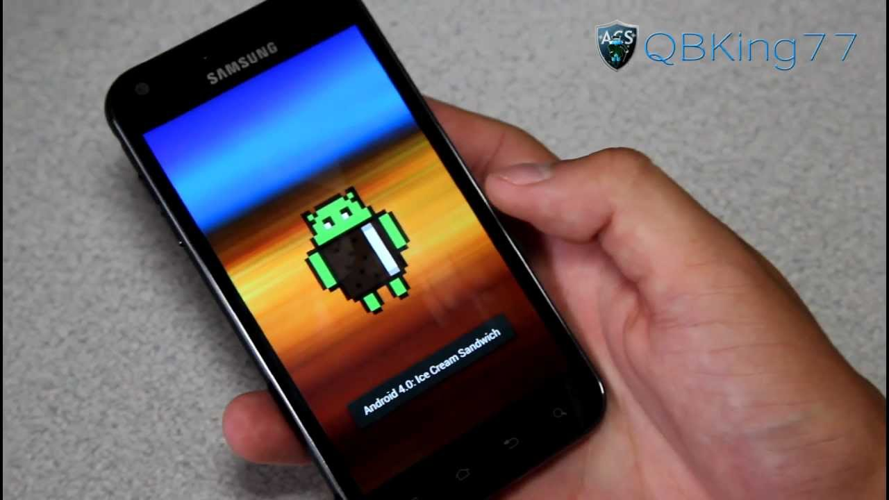 how to manually update to official ff18 ics on the samsung epic 4g rh youtube com Rpic Samsung Samsung Galaxy S2 4G