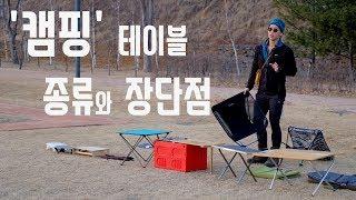 [캠핑! 이것만 알면 당신도 전문가! #6] 캠핑 테이…