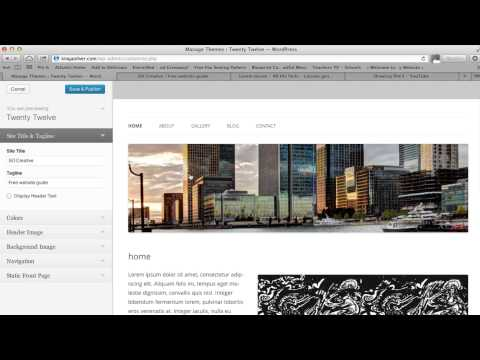 How to make a free website with wordpress for beginners