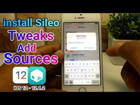 install sileo tweaks & add sources | iOS 12 - 12 1 2 Chimera