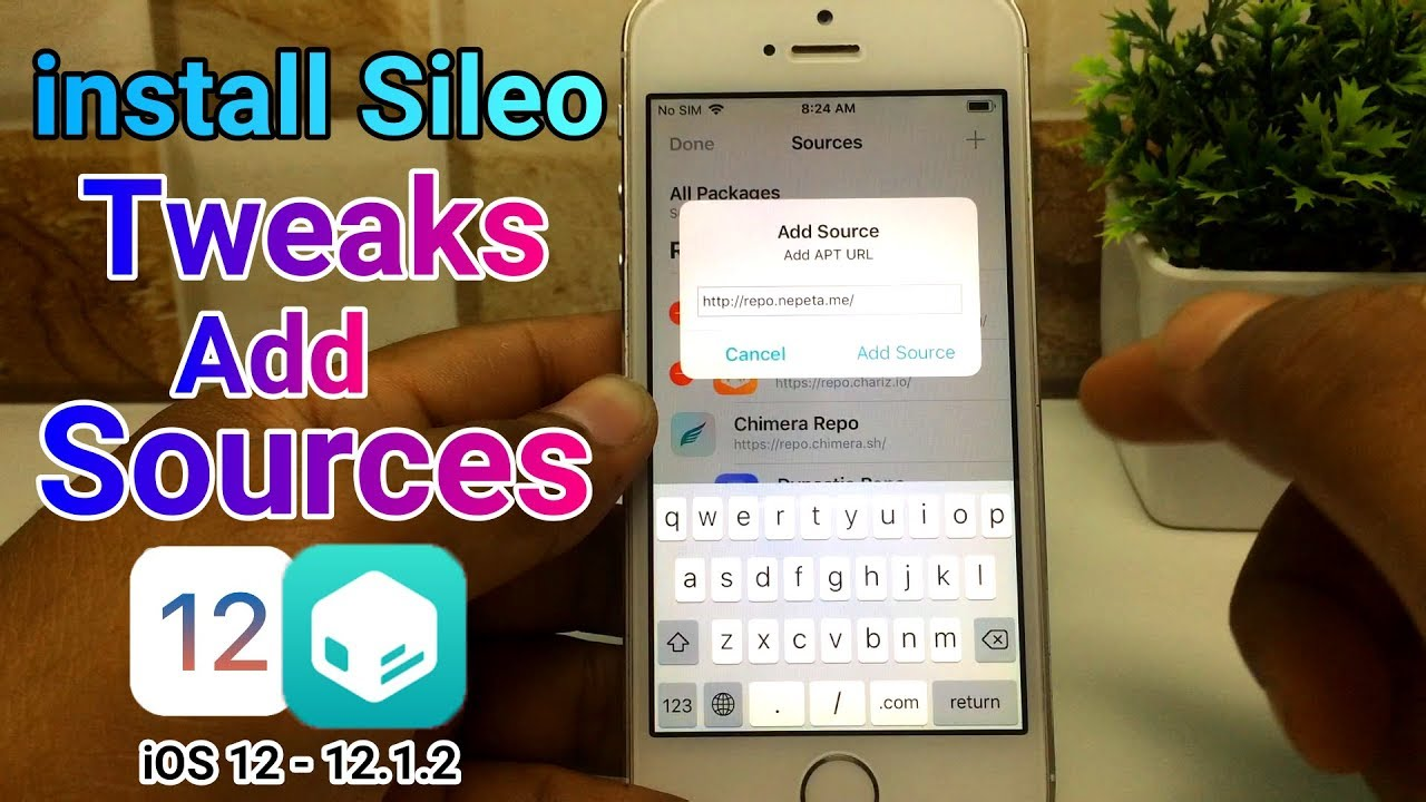 install sileo tweaks & add sources | iOS 12 - 12 1 2 Chimera Jailbreak