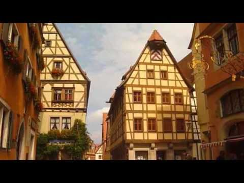 Rothenburg Bavaria, Germany - Walking Around